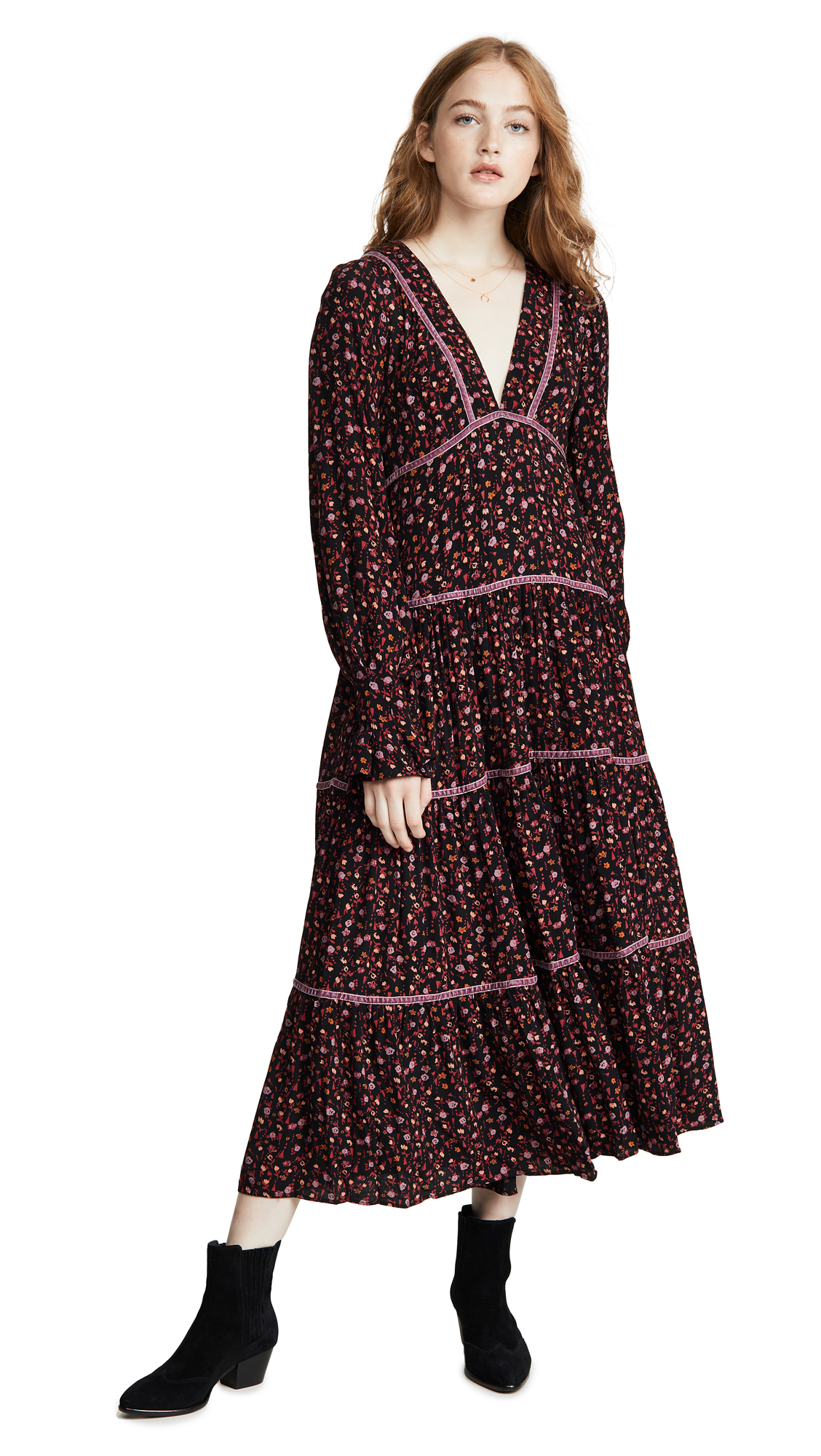 Photo of Free People Take A Little Time Midi Dress - shop Free People Clothing, Dresses online
