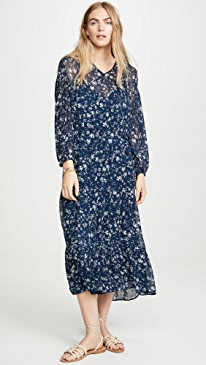 f7047ead2a1325 Free People. Wallflower Midi Dress