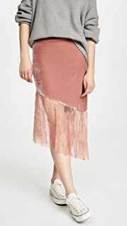 Free People My Lacey Midi Skirt