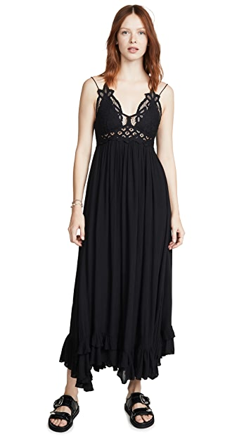 Free People Adella Maxi Slip Dress