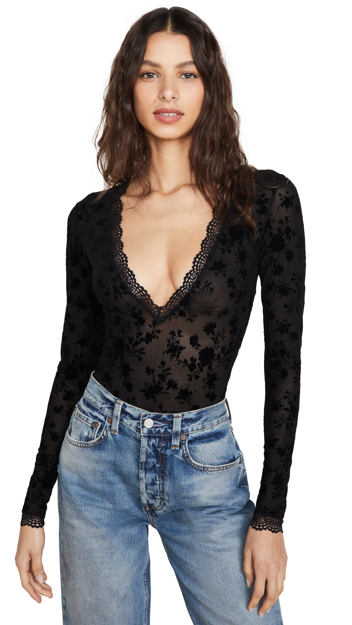 Buy Free People online - photo of Free People Babes In Bandeaus Bodysuit