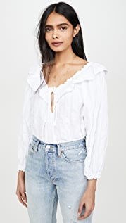 Free People Блуза Lily of the Valley