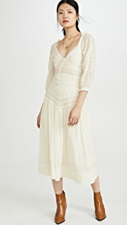 Free People Sweethearts Midi Dress