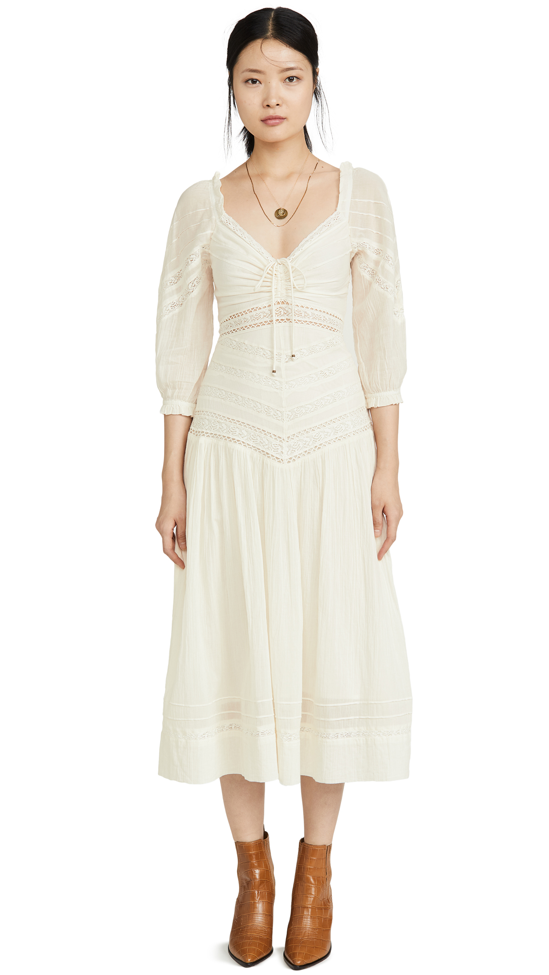 Buy Free People online - photo of Free People Sweethearts Midi Dress