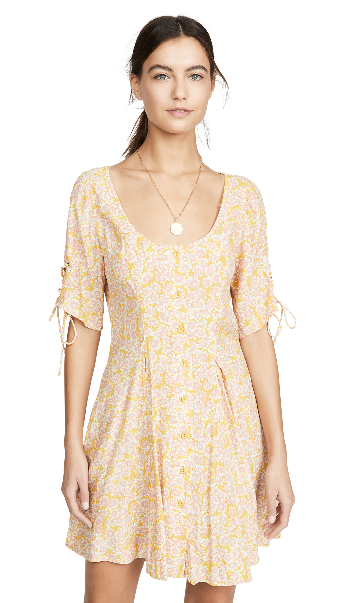 Buy Free People Laced Up Mini Dress online beautiful Free People Clothing, Dresses
