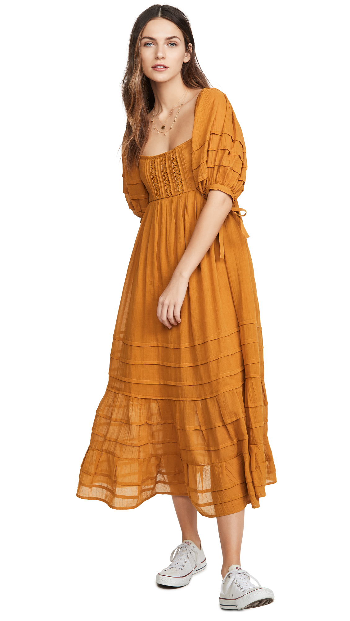Buy Free People Lets Be Friends Midi Dress online beautiful Free People Clothing, Dresses
