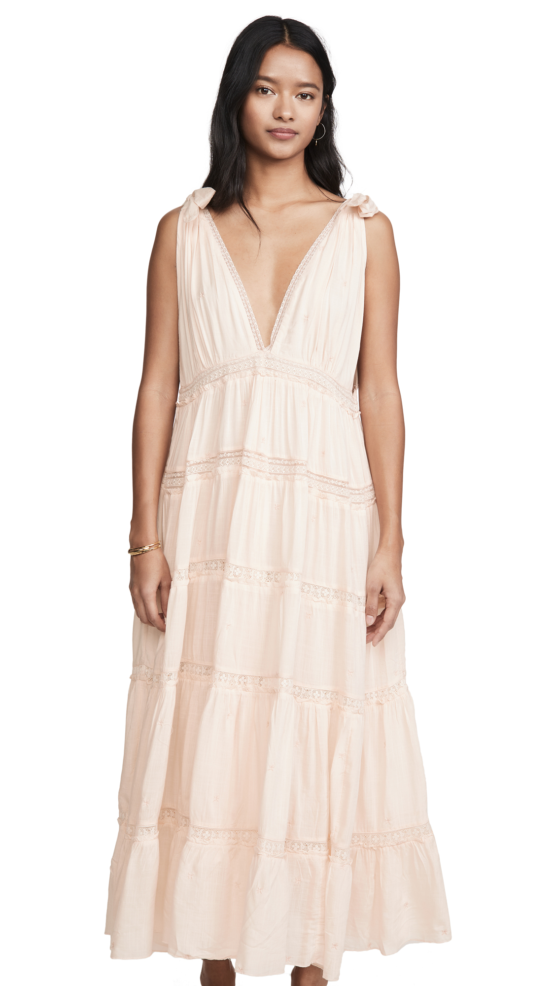 Buy Free People Lily Of The Valley Midi Dress online beautiful Free People Clothing, Dresses