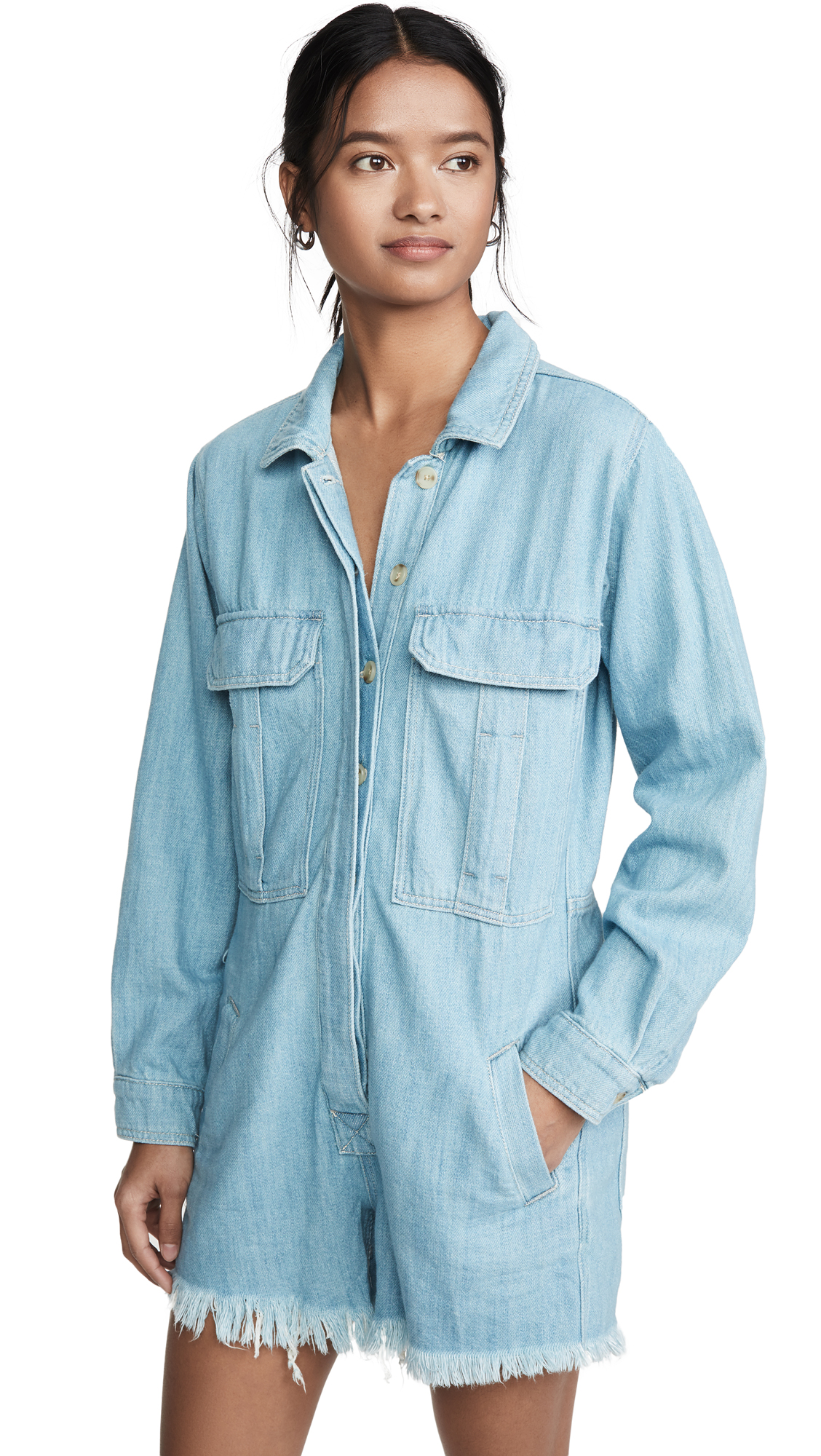 Buy Free People online - photo of Free People Shapeshifter Shortall Romper