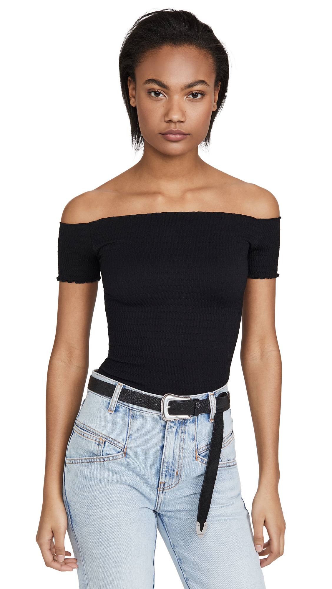 Buy Free People online - photo of Free People Moulin Ruched Top