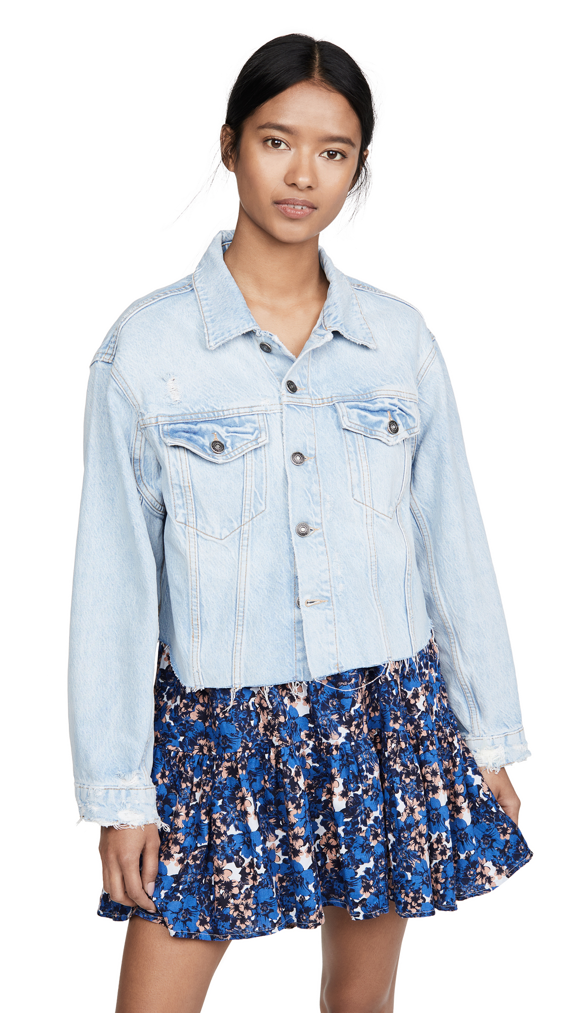 Buy Free People Amelia Slouchy Trucker Jacket online beautiful Free People Clothing, Jackets