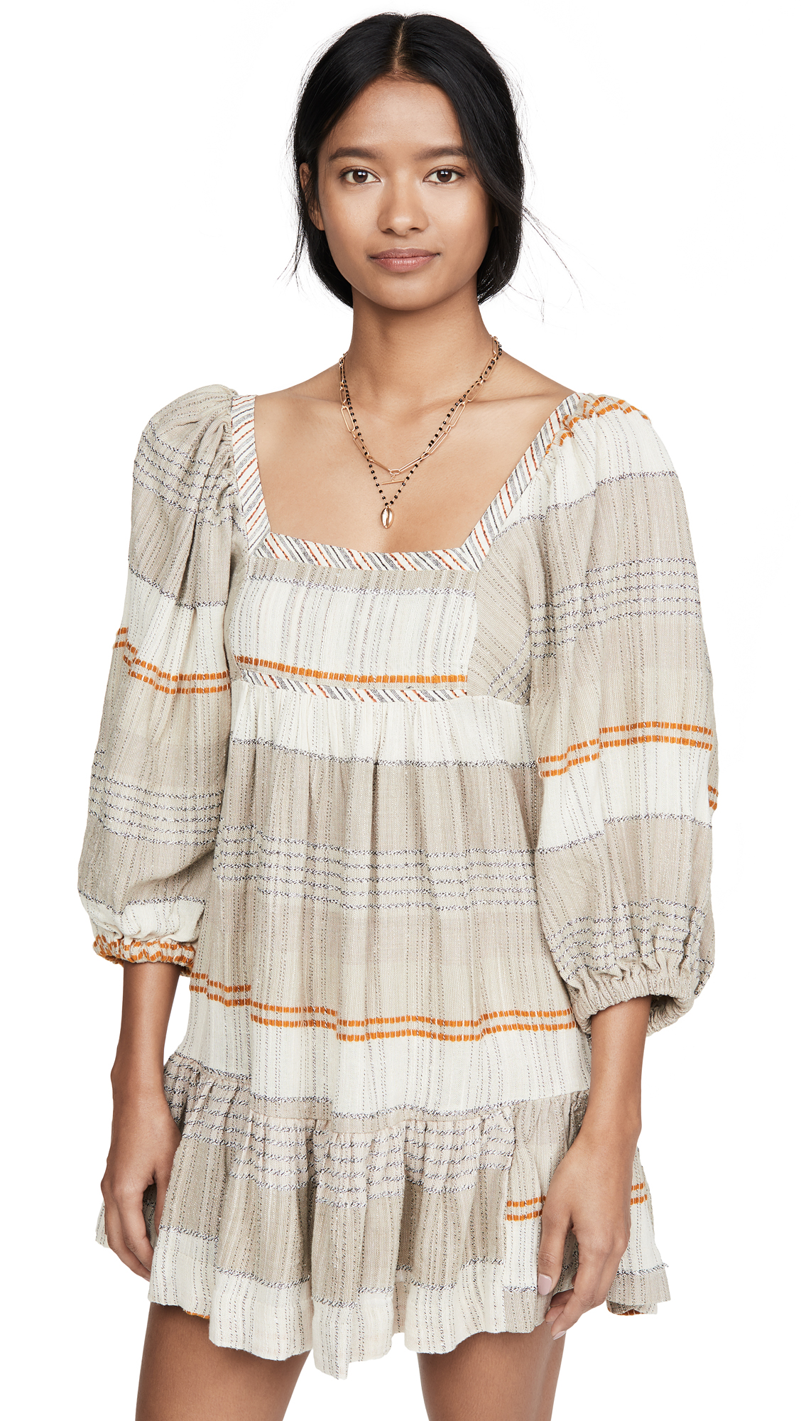 Buy Free People Cozy Striped Mini Dress online beautiful Free People Clothing, Dresses