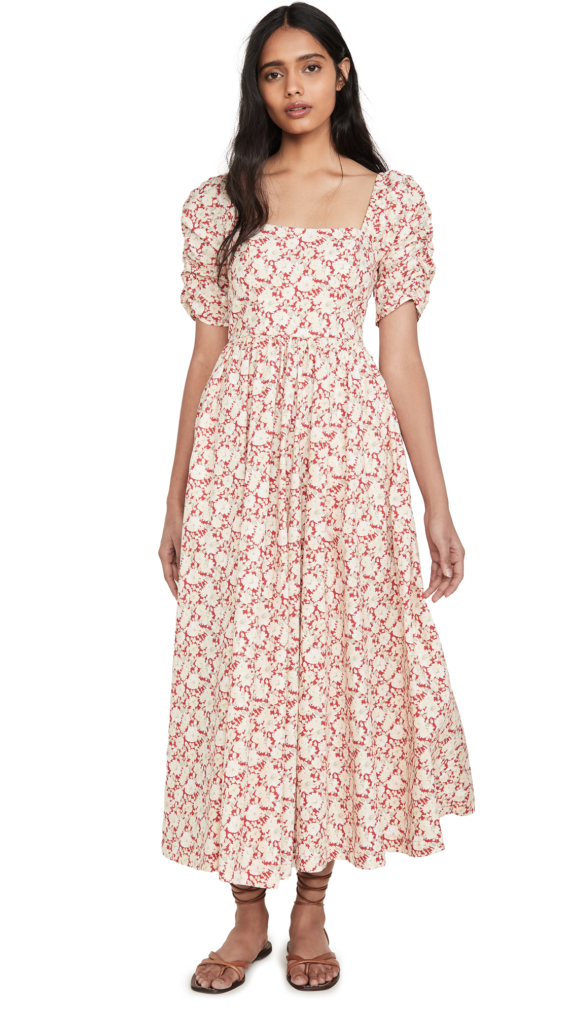 Buy Free People She's A Dream Midi Dress online beautiful Free People Clothing, Dresses