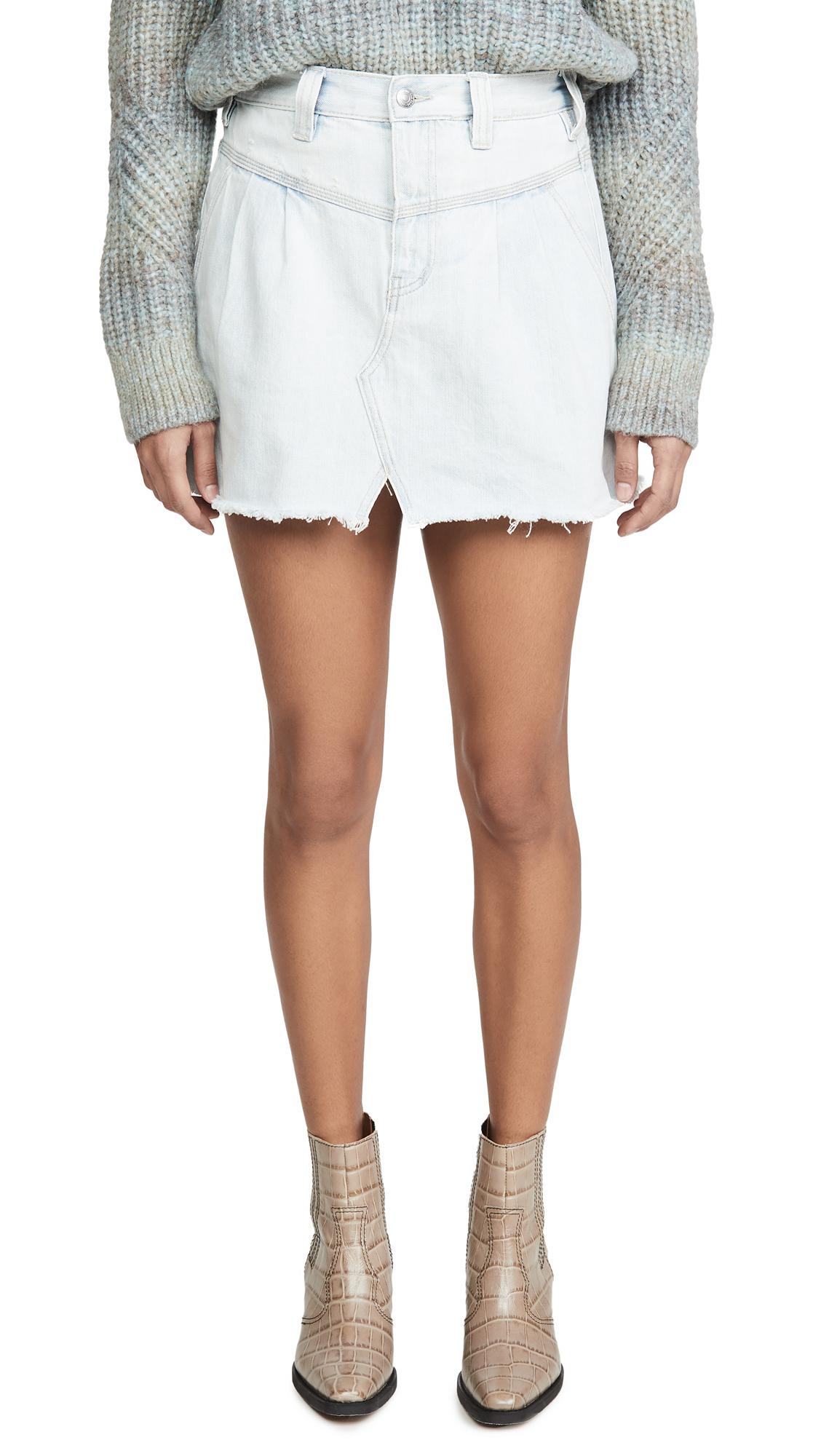 Buy Free People online - photo of Free People Side Car Miniskirt