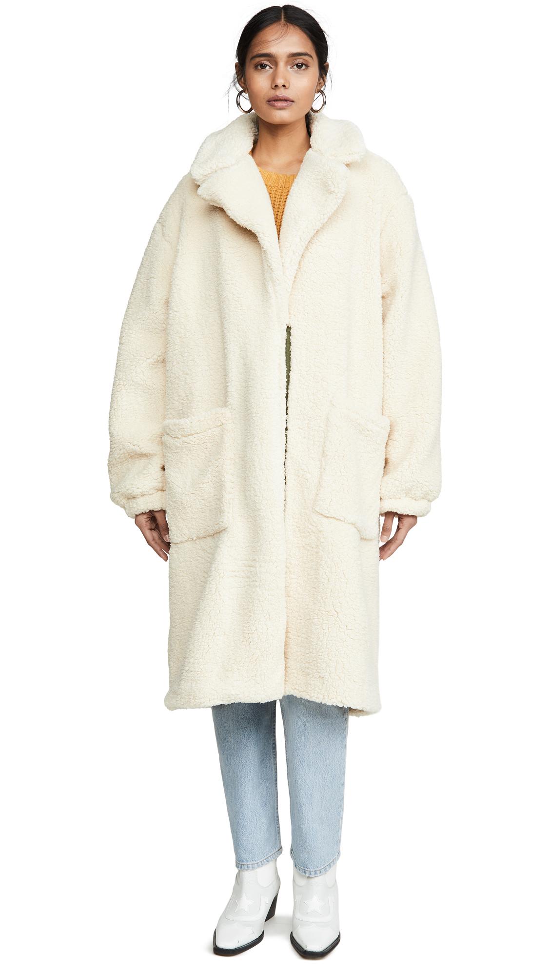 Buy Free People online - photo of Free People Tessa Teddy Coat