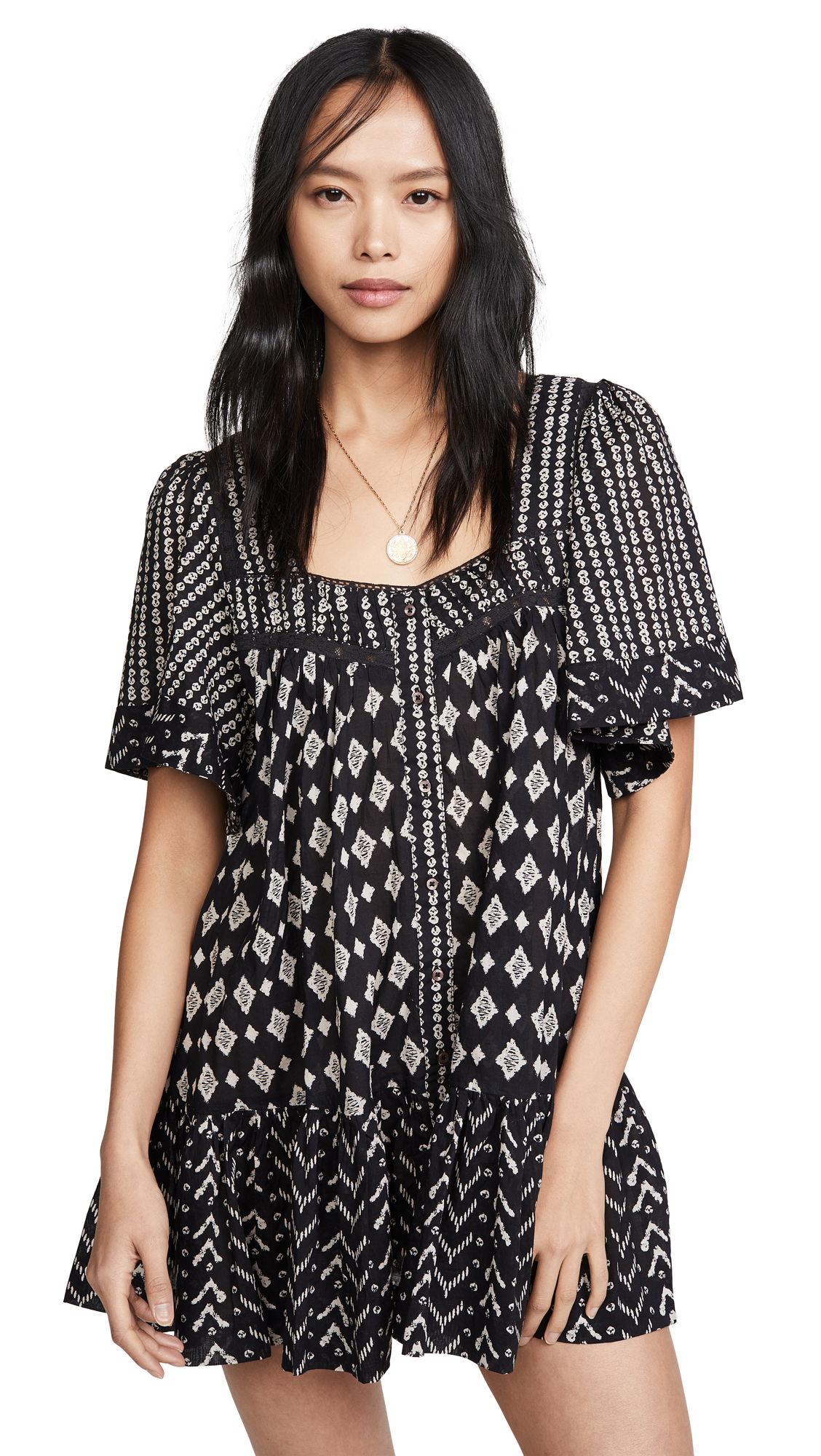 Buy Free People online - photo of Free People Hearts Desire Printed Dress
