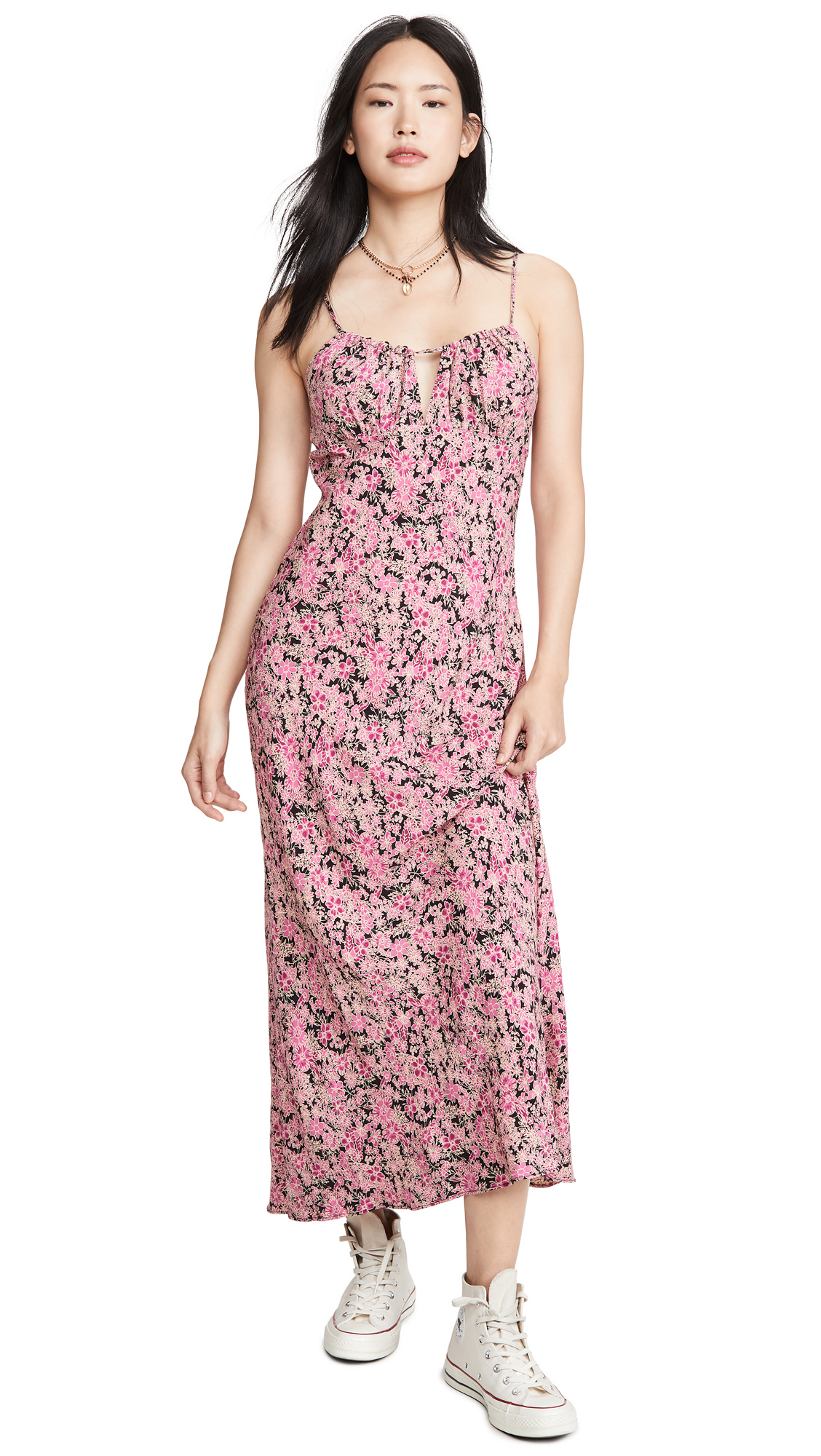Buy Free People Bon Voyage Midi Dress online beautiful Free People Clothing, Dresses