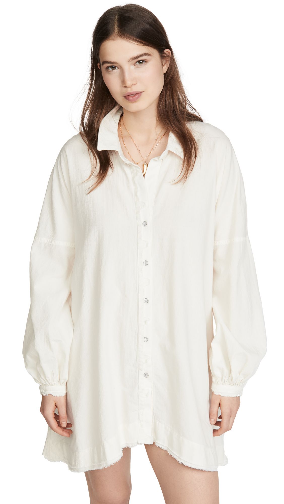 Free People Whistler Button Down Dress