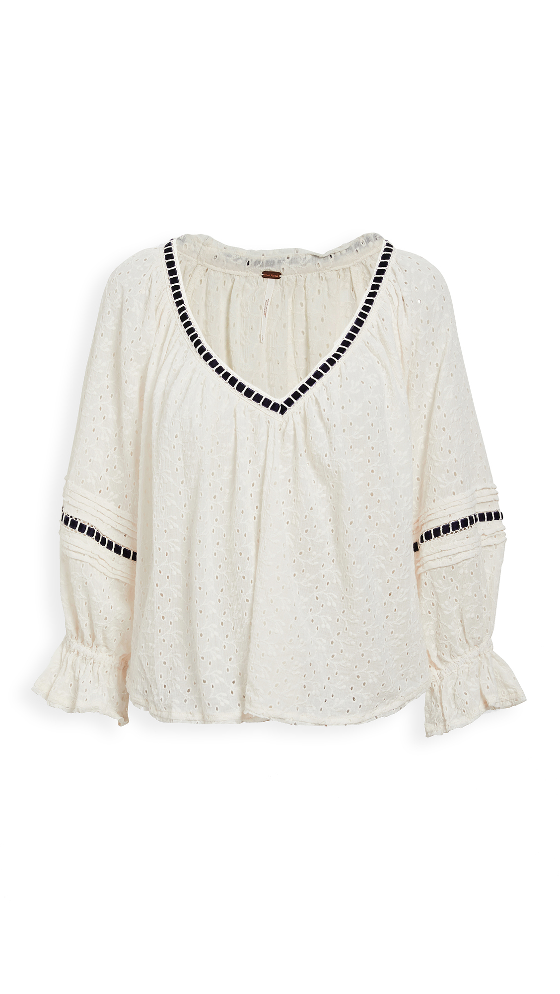 Photo of Free People Darcy Eyelet Blouse - shop Free People Tops, Blouses online