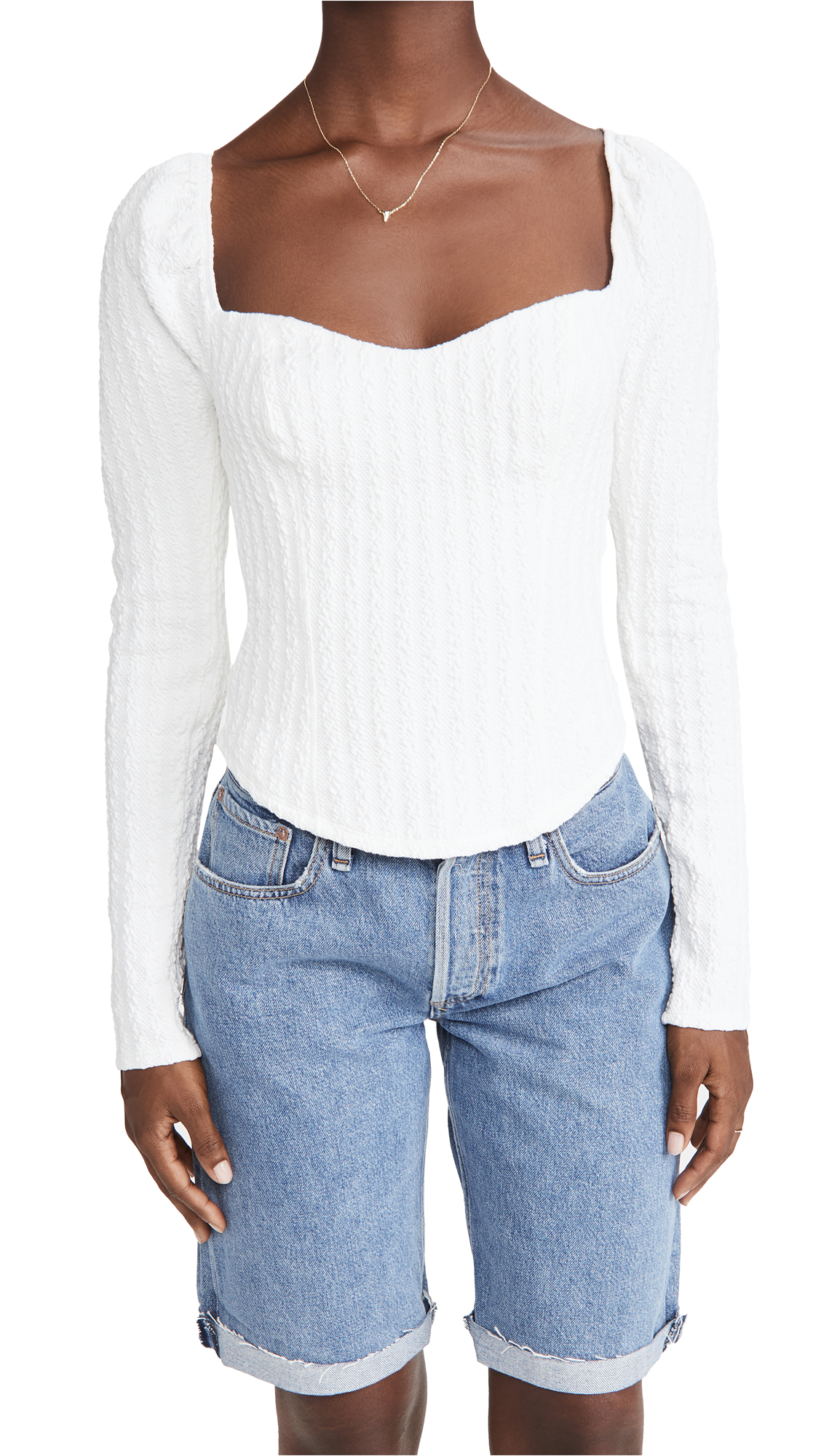 Free People Tops BRITTANY TOP