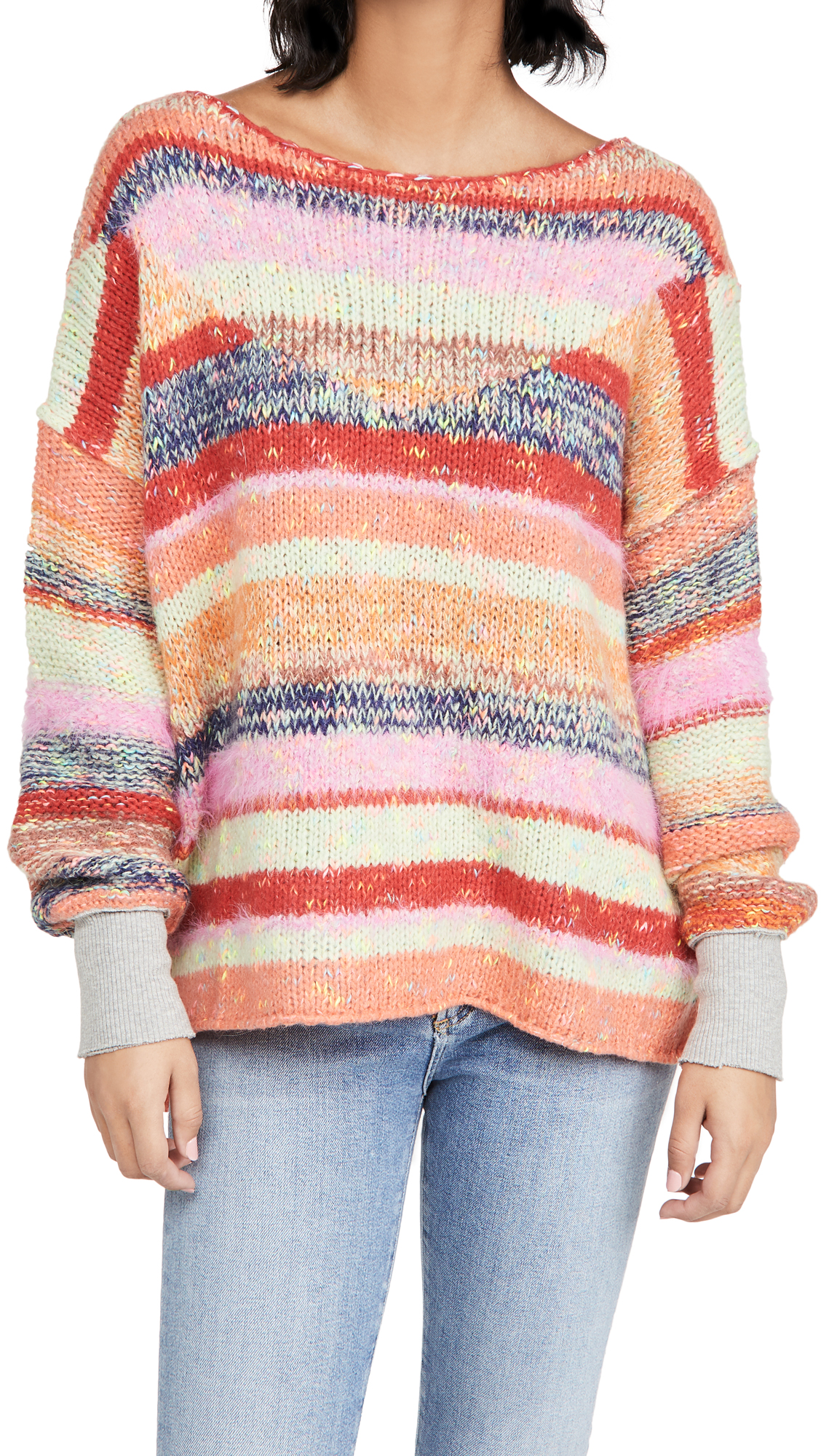Free People Sweaters STRING LIGHTS PULLOVER