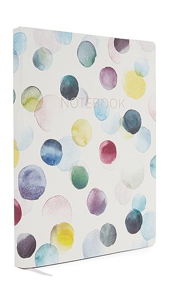 Fringe Lemon Drop Notebook