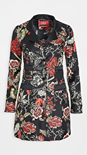 F.R.S For Restless Sleepers Salus Silk Twill Dress