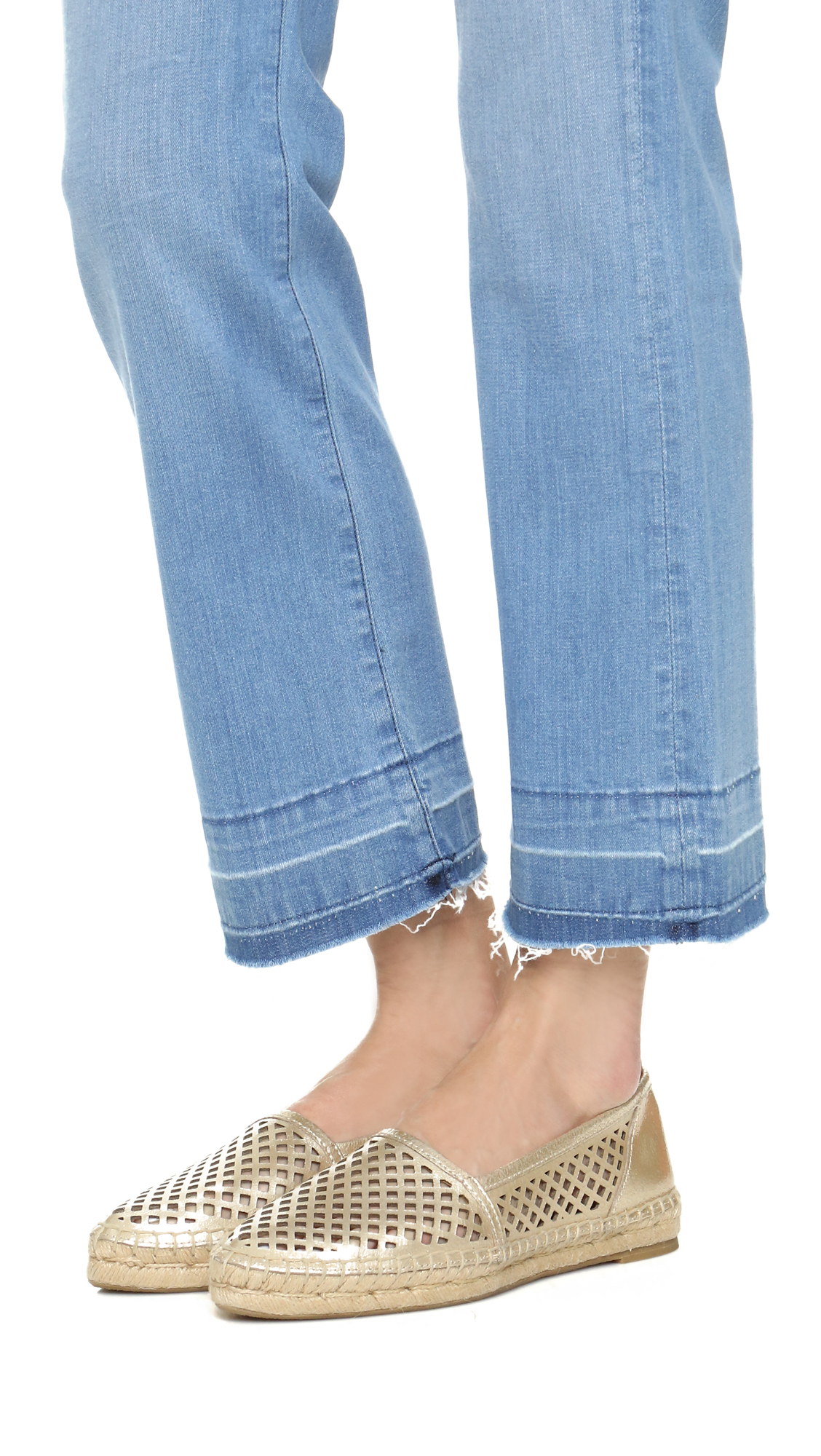 e6aee3355f9 Frye Lee A Line Perforated Espadrilles   SHOPBOP