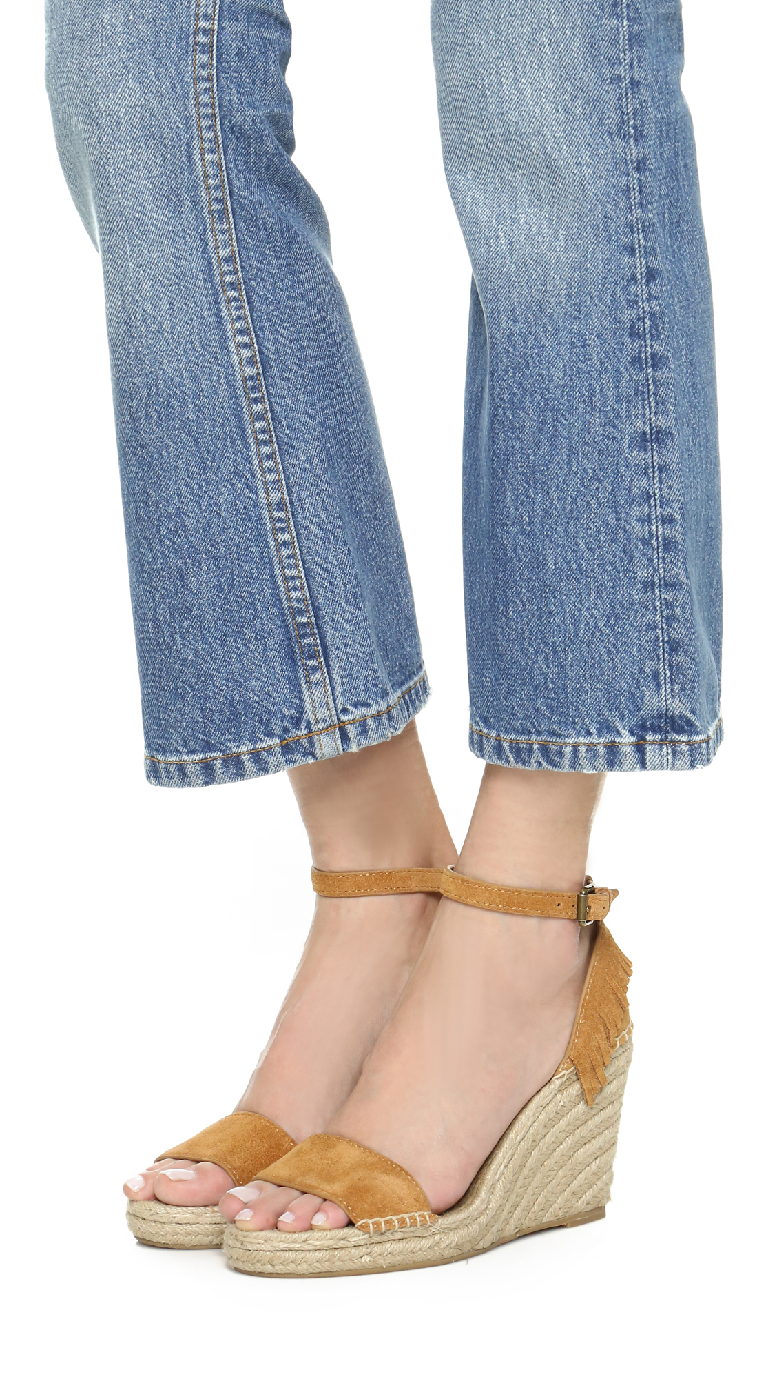 c9fdb5d5c0d Frye Lila Feather Wedges