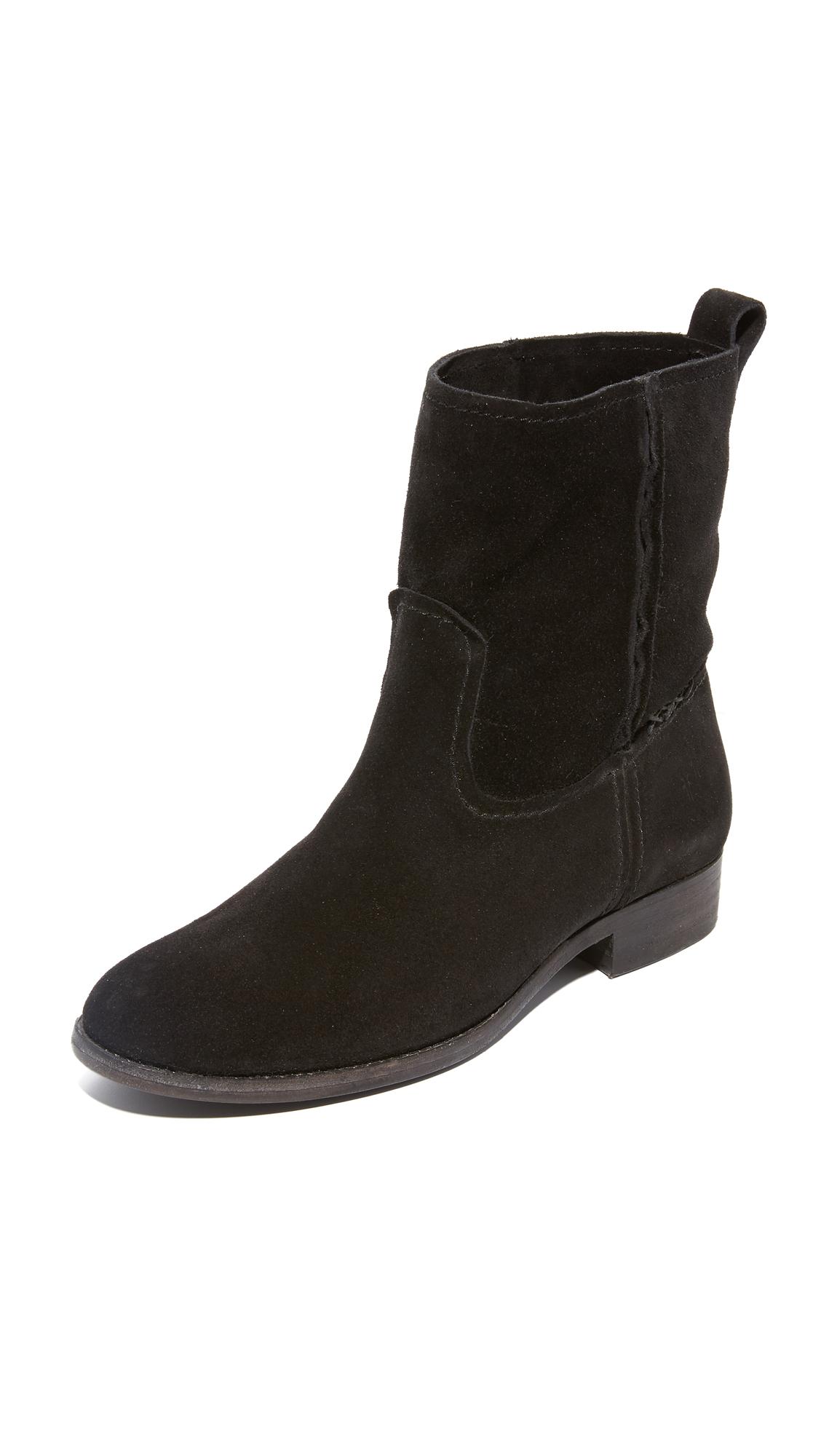 Frye Cara Short Boots - Black at Shopbop