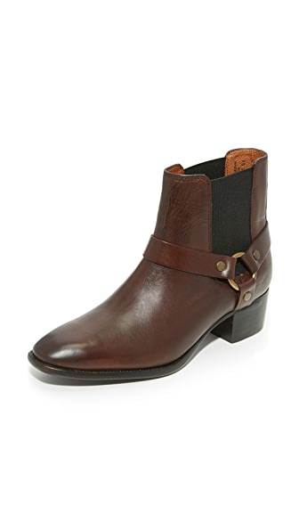 Frye Dara Harness Chelsea Booties