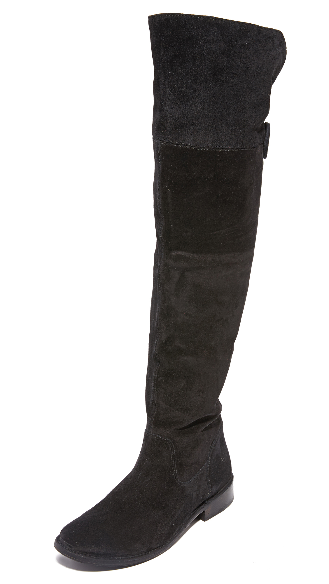 Frye Shirley Over The Knee Boots - Black
