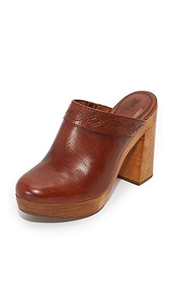 Frye Emily Clogs - Redwood at Shopbop