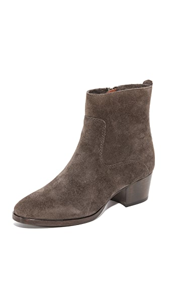 Frye Clara Zip Short Booties