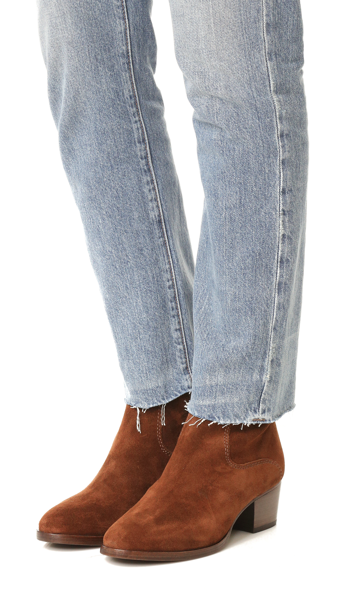 5c7edc7f398 Frye Clara Zip Short Booties
