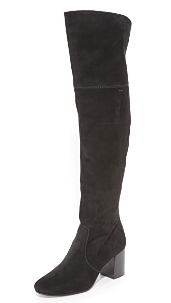 Frye Jodi Over the Knee Boots - Black