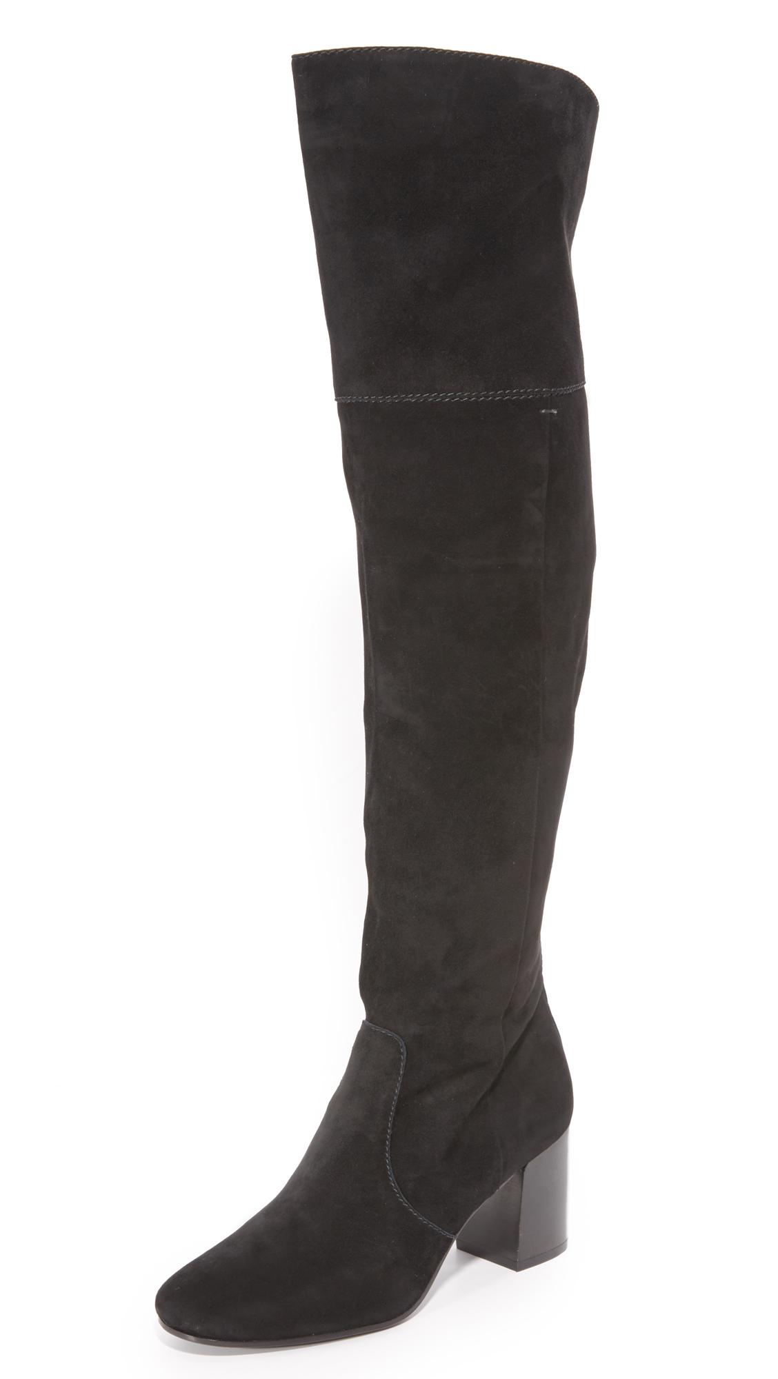 Frye Jodi Over The Knee Boots - Black