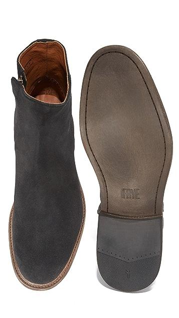 Frye Chris Inside Zip Boots