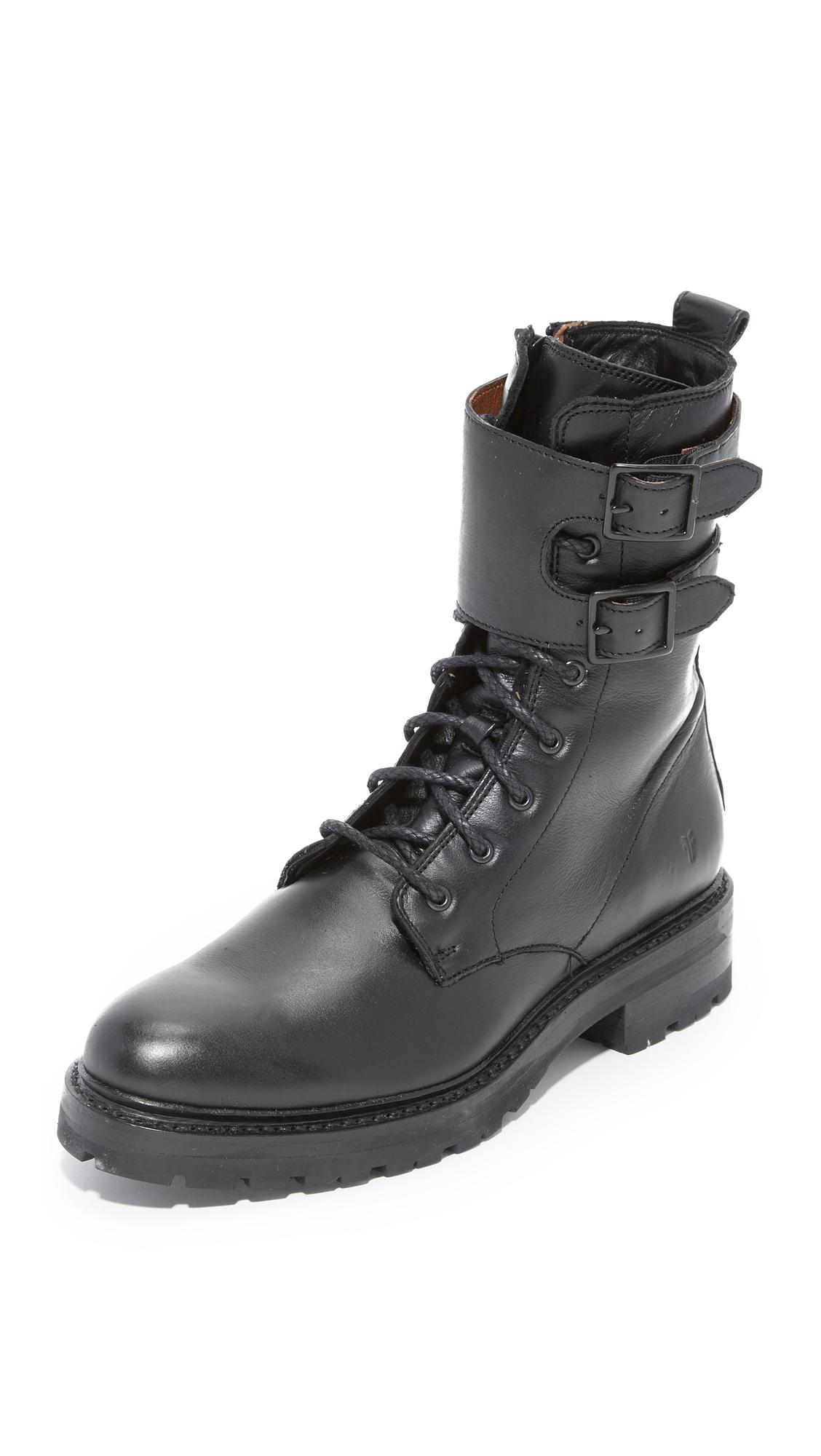 Frye Julie Shield Boots - Black at Shopbop