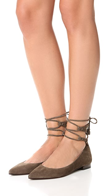 Frye Sienna Ghillie Ballet Flats