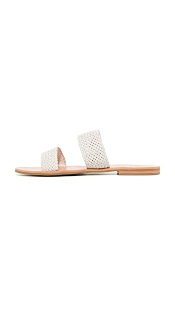 Frye Ruth Woven Wrap Sandals