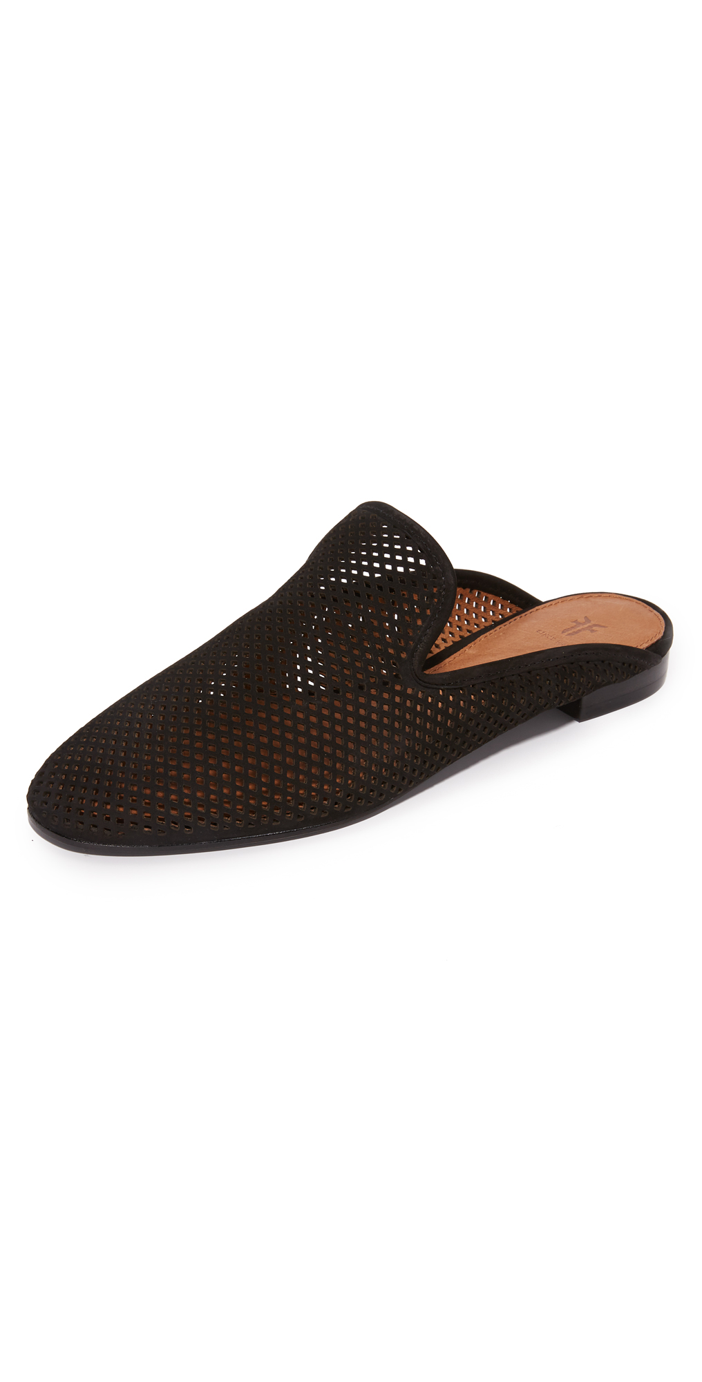Gwen Perforated Mules Frye