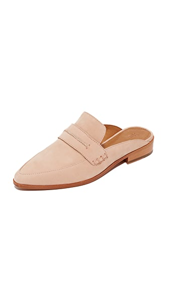 Frye Ellie Mules - Blush