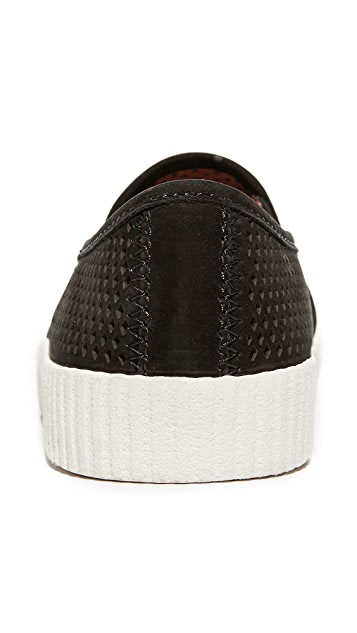 Frye Camille Perforated Slip On Sneakers
