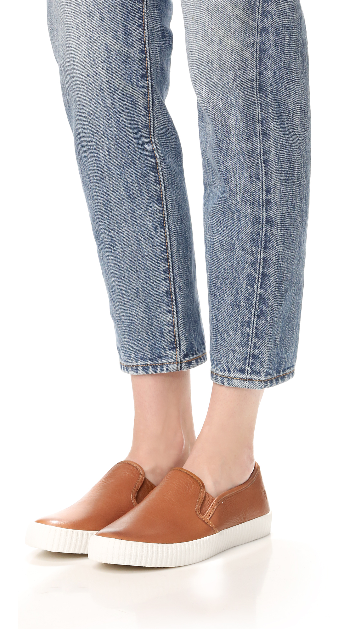 Frye Camille Slip On Sneaker (Women's) ANNTm4Rjo