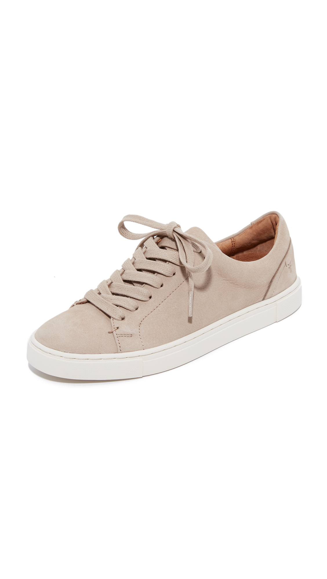 Frye Ivy Low Lace Sneakers - Taupe