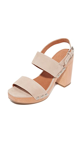 Frye Tori 2 Band Sling Sandals - Taupe
