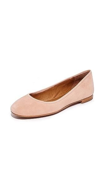 Frye Gloria Ballet Flats - Blush