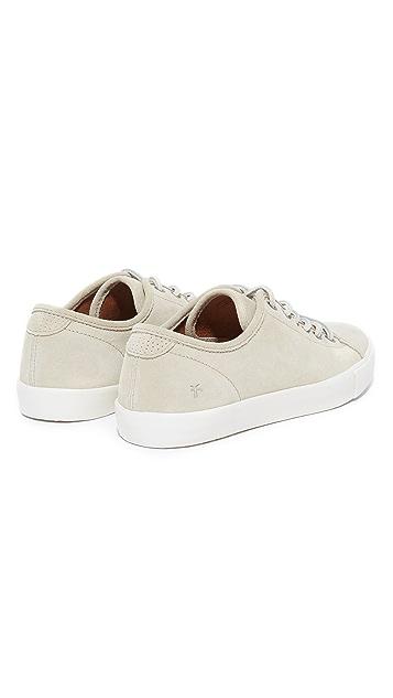 Frye Brett Low Suede Sneakers