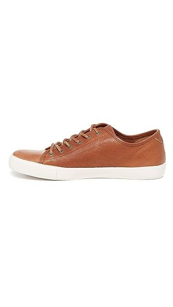 Frye Brett Low Leather Sneakers