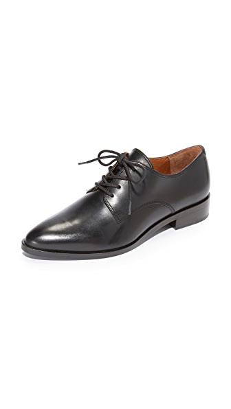 Frye Erica Oxfords In Black